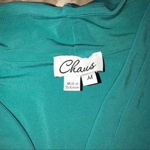 Chaps Tops - Blue Chaps Blouse Tank